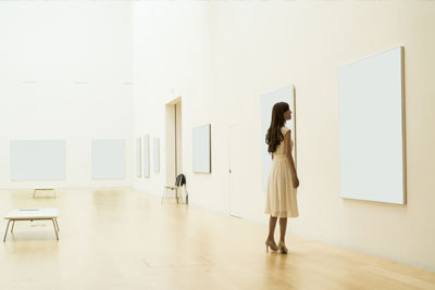 Art gallery and exhibitions